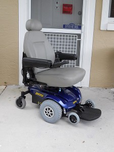 VRLA Batteries can be used to power the Prida Jazzy Wheelchair