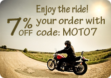 7% off your motorcycle, ATV or snowmobile battery order