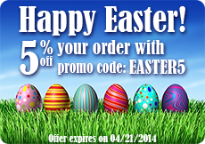 EASTER5 Coupon code