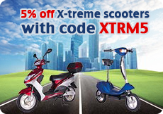 X-Treme Scooters discount coupon